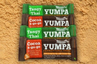 Yumpa Energy Bars with Cricket Flour