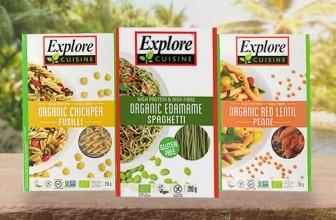 Explore Cuisine: Organic, Gluten-Free Vegan Pasta